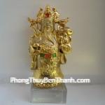 Biểu tượng phong thủy: Thần tài Tua Peh Kong